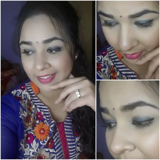 Beauty & Beyond: Indian Wedding Guest Makeup Look With Drugstore Pr..