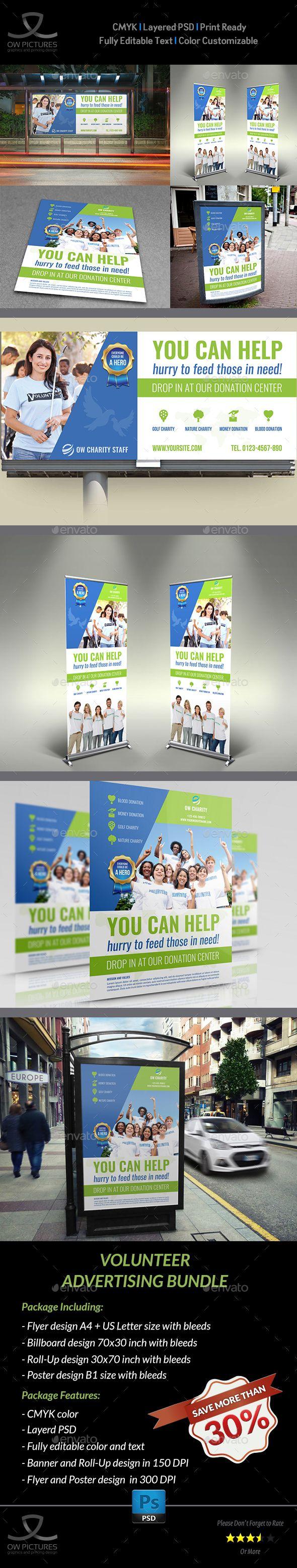 Volunteer Advertising Bundle by OWPictures Advertising Package Description : Vol...