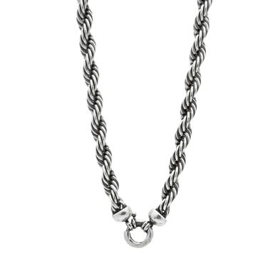 N1522 - Twisted rope necklace in small or medium