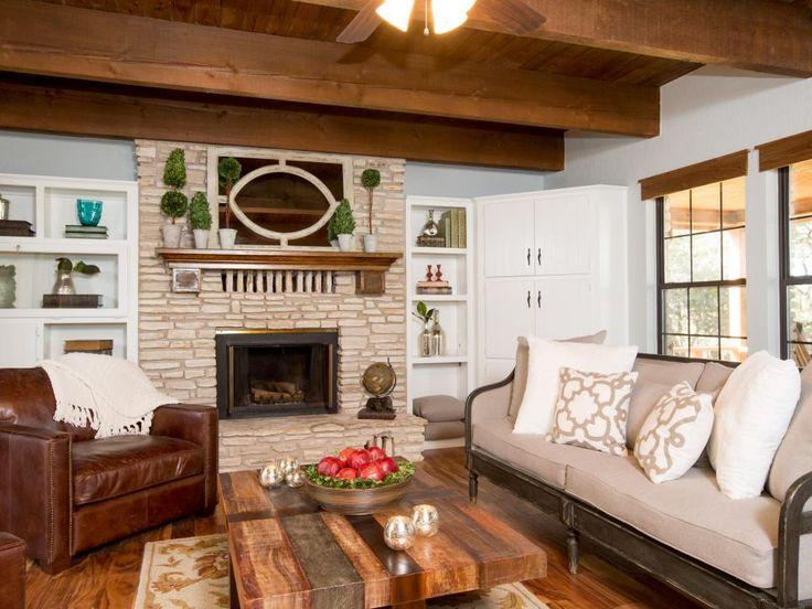 14 best fixer upper bee house images on pinterest for Upper living room designs