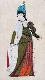 Sinekemanı çalan hanım. Abdullah Buharî imzalı. 1744. İÜK T9364, y. 10a