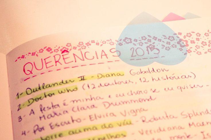 Organização: cadernos de leitura e blog | Cheirando Livros
