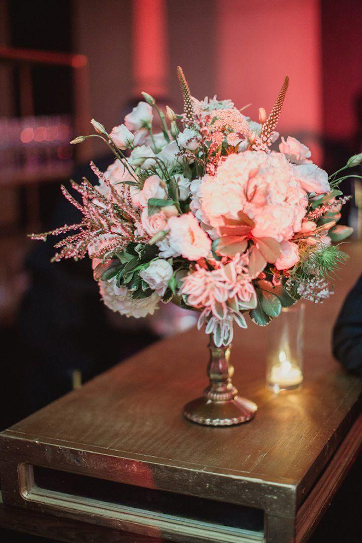 Featured photographer: Shaun Menary Photography; Wedding reception centerpiece idea