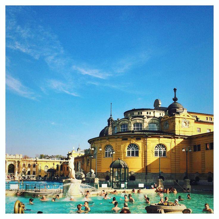 #Wellness #ThermalBaths #Szechenyi thermal bath #Budapest