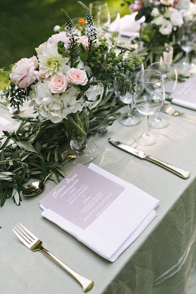 Best 800+ Wedding Place Setting & Table Setting Ideas images on ...