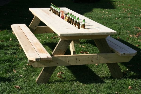 Coffee Table With Integrated Ice Trough Home 736x580 · Picnic ...
