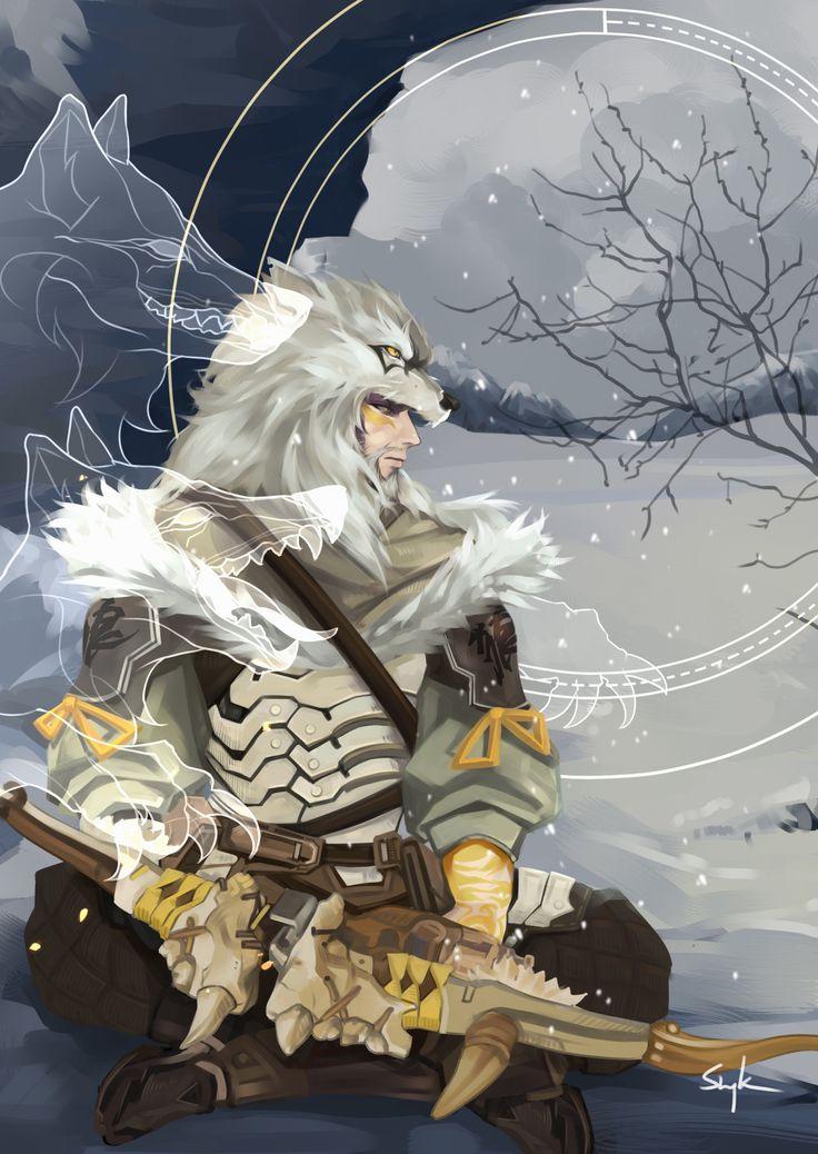Hanzo Shimada The Archer White Wolf!