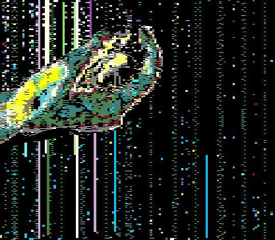 C/O/M/E | Glitch Art / VHS Effect / Aesthetic / Trippy ...