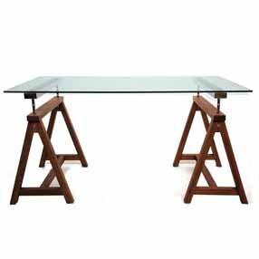 - Trestle Desk