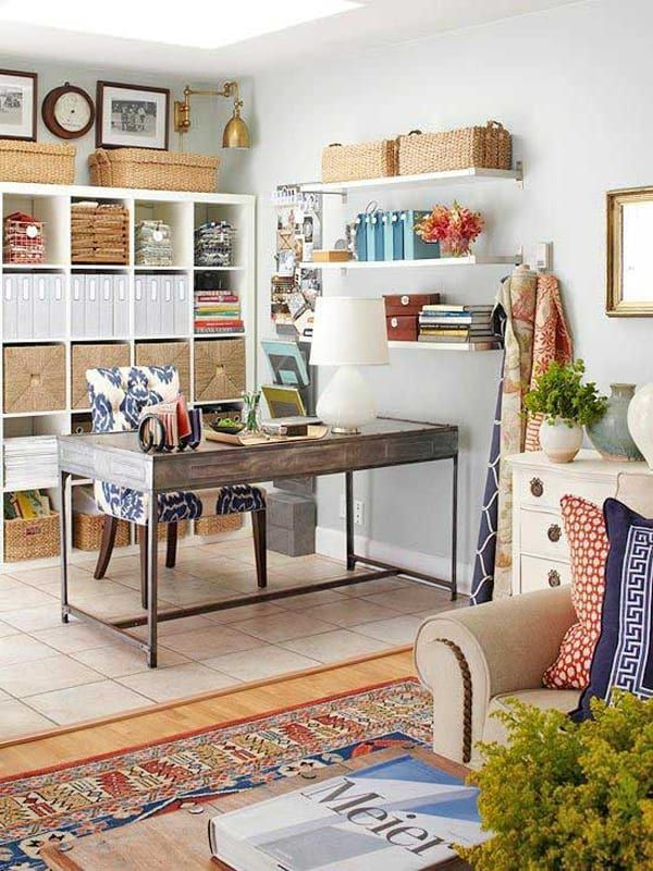 Amazingly Creative Designing Home Ideas Office Space 47 Amazingly Creative Ideas For Designing A Living Room Office Home Office Design Home Office Space