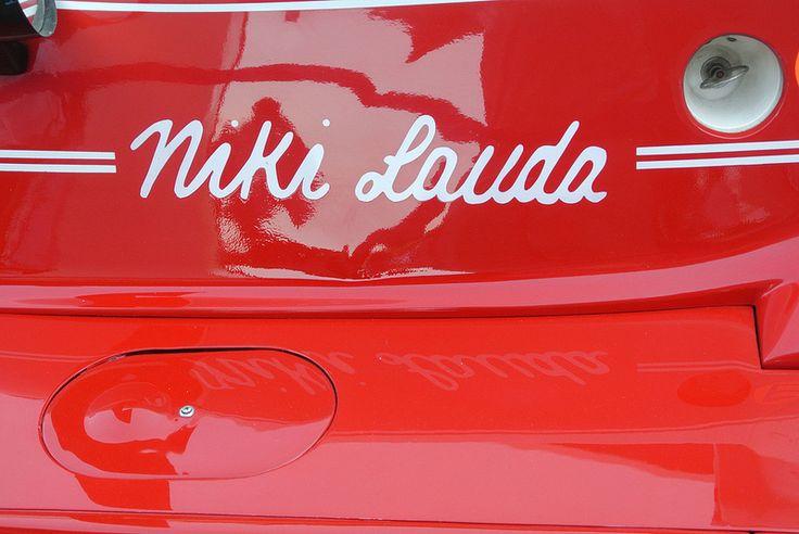 NIKI LAUDA FERRARI 312T RUSH DISPLAY