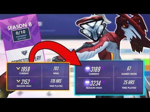 Today im talking about how to get to diamond rank overwatch season 8 competitive and some overwatch competitive ranked tips to help you get there. Overall in overwatch comp s8 there seems to be 2 mains types of thinking to rank up, and I hope that I can help you there today to climb out of...
