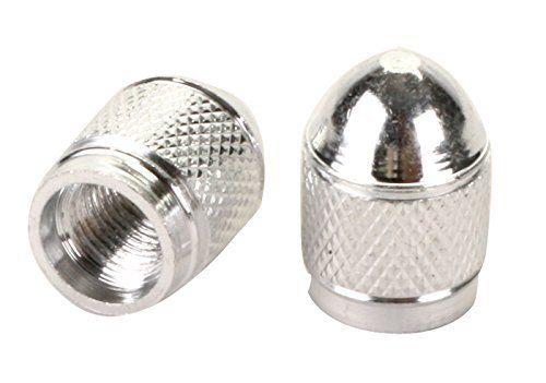 Sunlite Hex Sport Schrader Valve Caps, Silver. #Sunlite #Sport #Schrader #Valve #Caps, #Silver