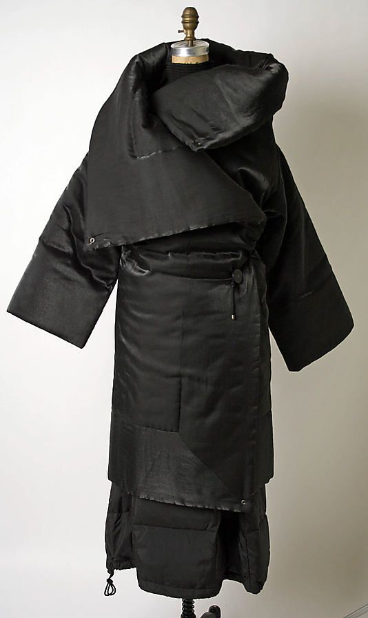If only the designer would reissue this coat, and drop the price, then problem solved... / Issey Miyake (Japanese, born 1938) Date: 1985