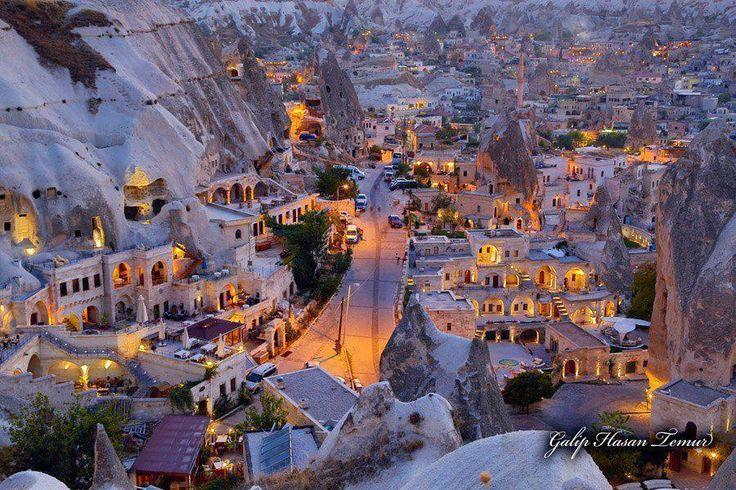 Ciudad de Capadocia - Turquía - DOĞA Hayattır.