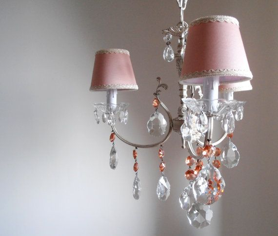 Girls room rare Murano glass crystal by MilanChicChandeliers & 77 best shabby chic images on Pinterest | Crystal chandeliers ...