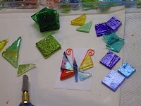 Beverly Cleary School Class ART Projects Auction 2009: MS. HART'S FIRST GRADE CLASS (Glass Platter): Projects Auction, Grade Class, Beverly Cleary, Class Art Projects, Auction 2009, Cleary School, First Grade