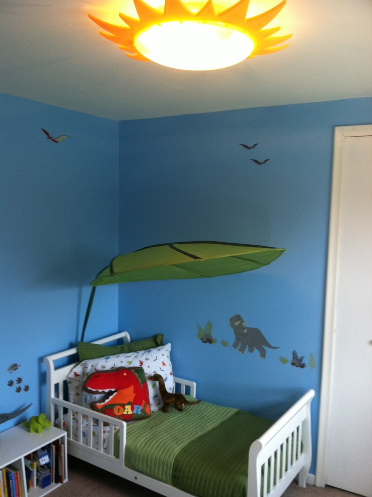The Dinosaur Room We Did For My Son For My Little One