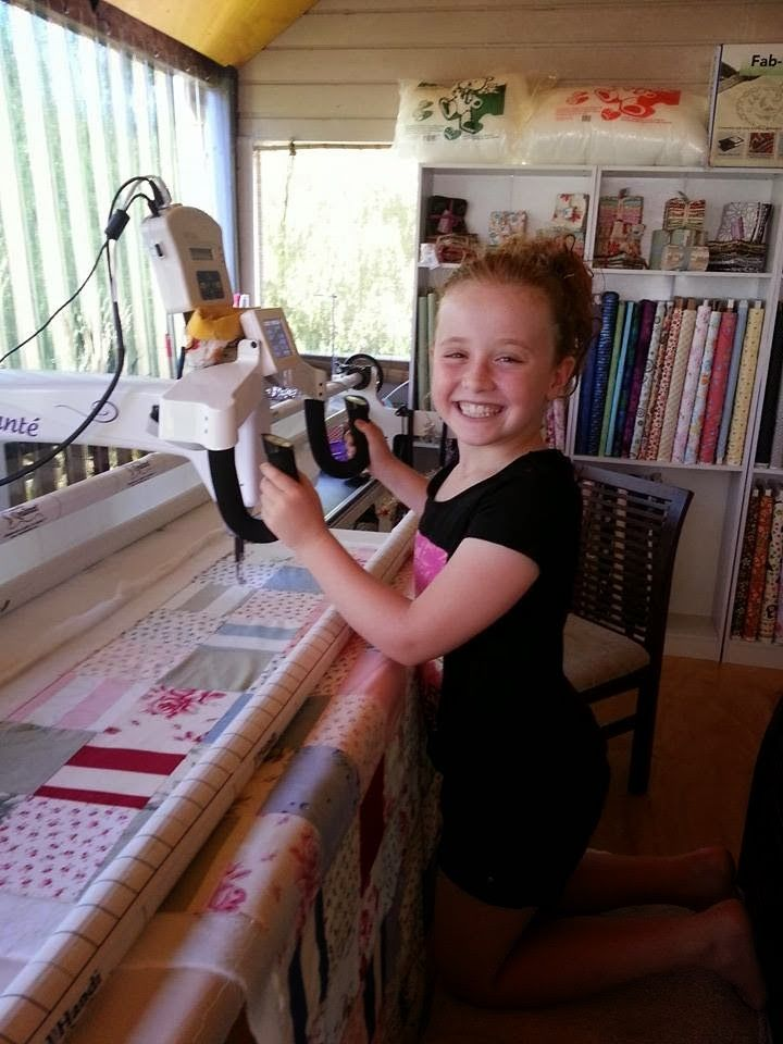 Darvanalee Designs Long Arm Quilting and More: Summer Break :) Miss S's Story Part 1