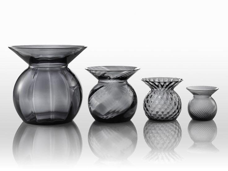 Matryoshka Glass Vases Design by Lera Moiseeva  for NasonMoretti