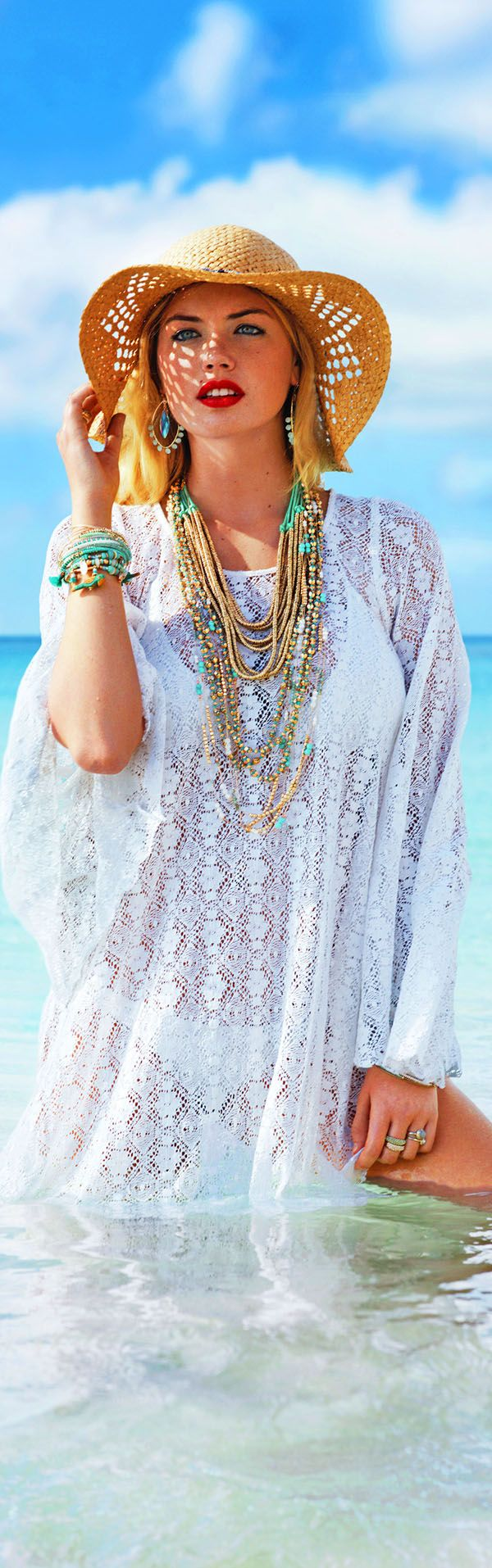 Beach Cover-Ups for Plus Size Women Over 50 at http://boomerinas.com/2013/03/beach-cover-ups-for-women-plus-size-tunics-dresses-caftans-sarongs/