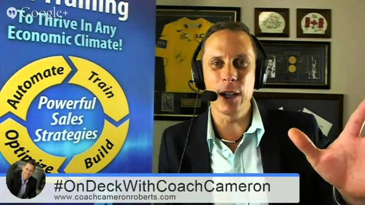 #OnDeckWithCoachCameron Ep8: 5 Rules to Building a Highly Successful Small Business - http://coachcameronroberts.com/