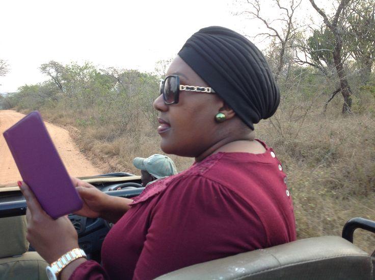 Selfie time on safaris
