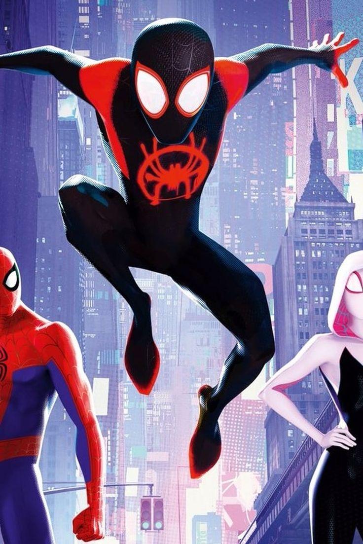 Pin Em Spider Man Into The Spider Verse Pelicula Completa 2018
