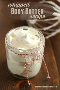 I'm IN LOVE with this whipped body butter recipe. It makes my hands soft and happy (without being greasy), and it smells like chocolate. enough said! (makes a really good gift, too)