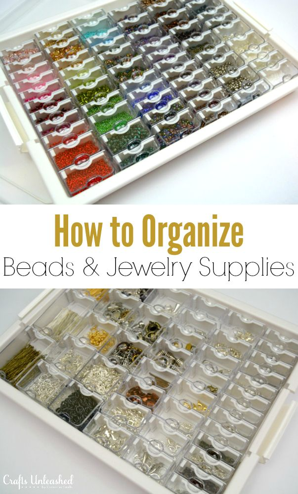 How to Organize Beads & Jewelry Supplies