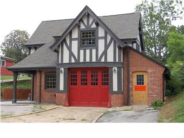 Tudor garage