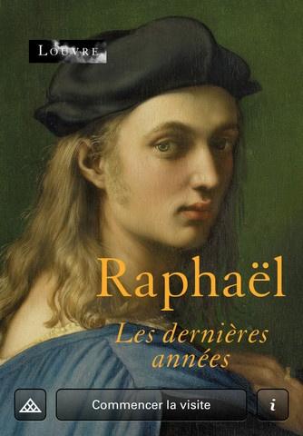 Raphaël Exhibition App: Musée du Louvre.