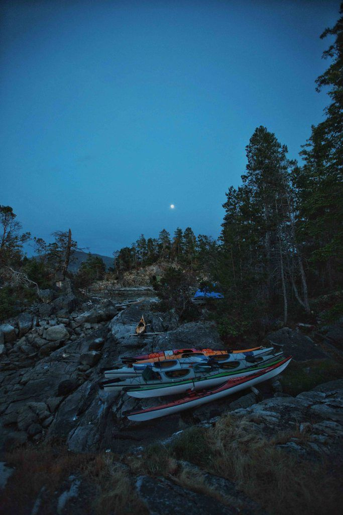 Kayaking Expedition in Desolation Sound, BC