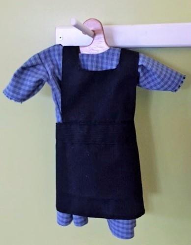 Amish Doll Apron
