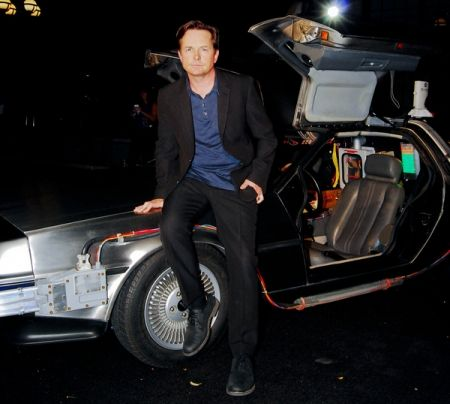 Michael J. Fox and friends celebrate Back to the Future