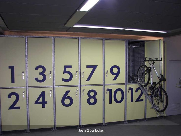 Josta 2-tier lockers | Cycle-Works Limited | Bike Lockers | Bike Storage | Bike Sheds