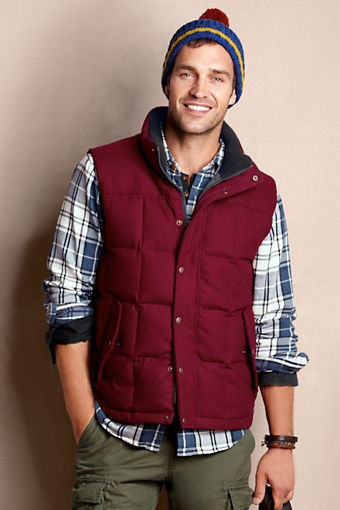 Mens fashion with vest 6