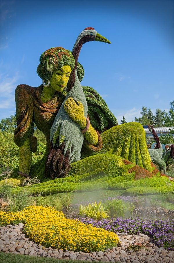 Botanical Gardens - Just no words to describe this!  Montreal Botanical Garden in Quebec, Canada, founded in 1931