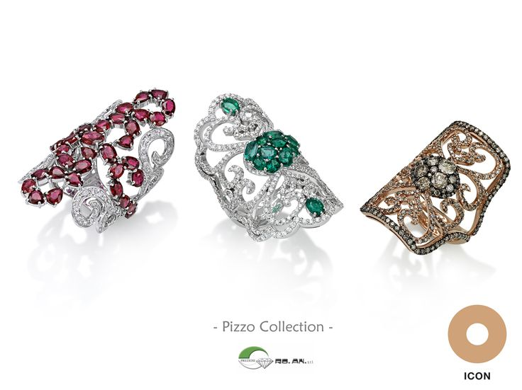 Lace #rings by Ro.An - #RoAn