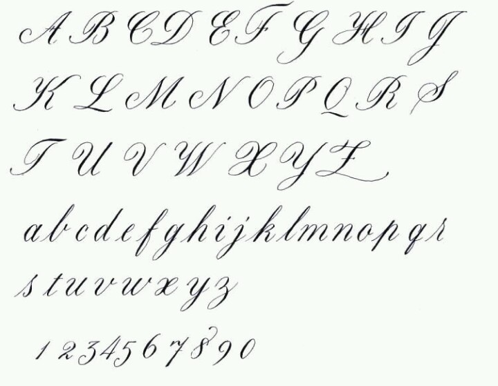 Flowy script
