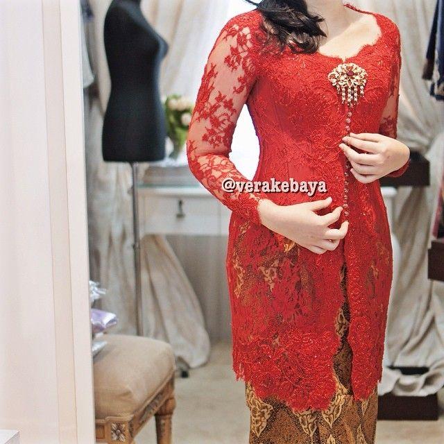 #kebaya #lace #batik #verakebaya ❤️❤️❤️ - @Vera Kulikova Anggraini- #webstagram