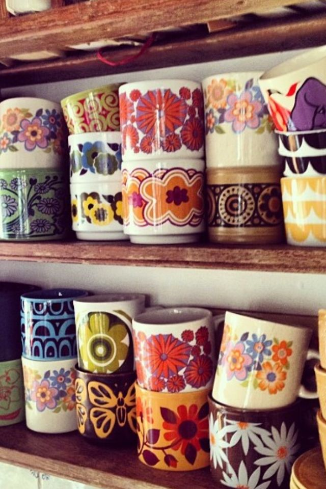 I love this coffee cup collection- I just started my own ,but it's tiny and not…