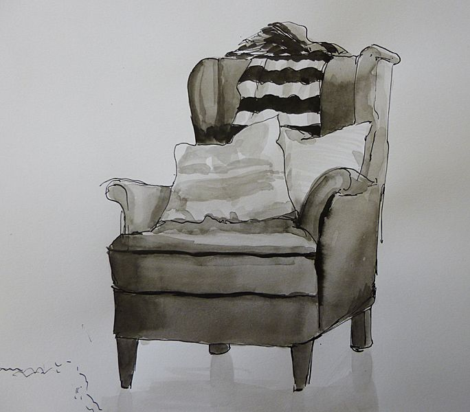 teaching ink brush techniques - Google Search