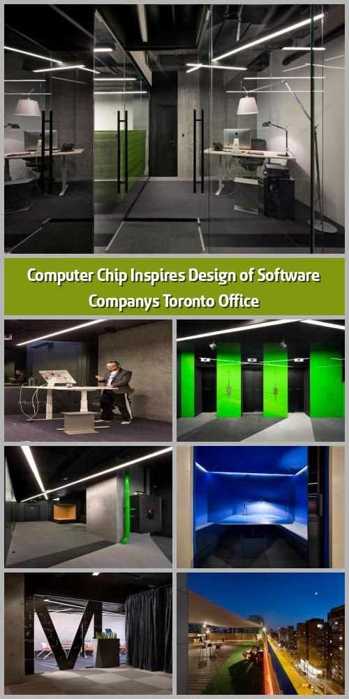 Office Room Design Software: Computer Chip Inspires Design Of Software Company's