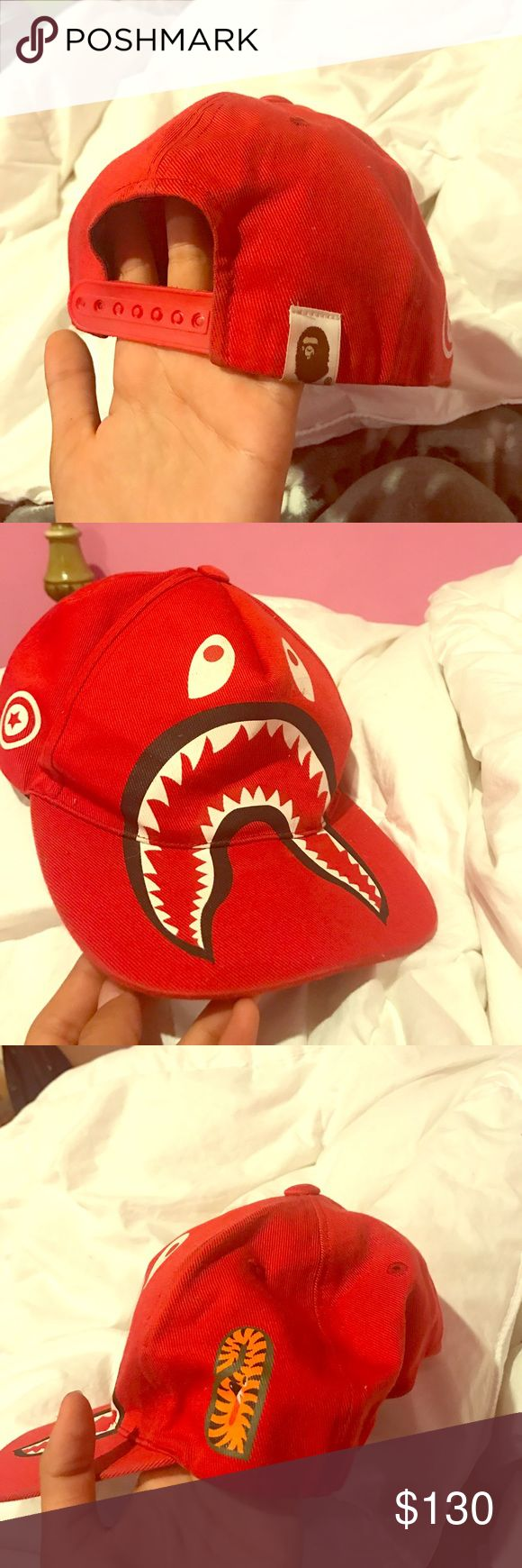A bathing ape hat bape x shark hat limited edition REAL!! bought from website a bathing ape Other