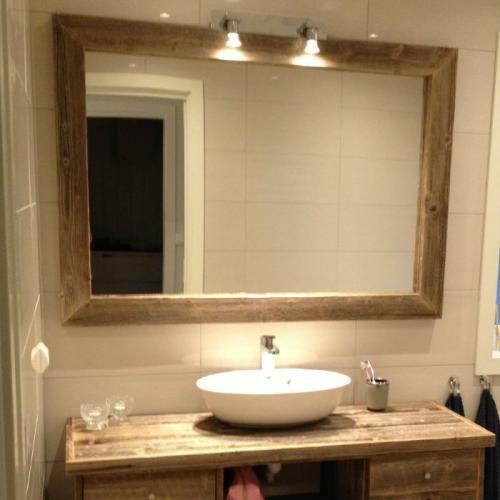 Speil fra drivved, fås i tre farger og flere dimensjoner, både på rammen og i str