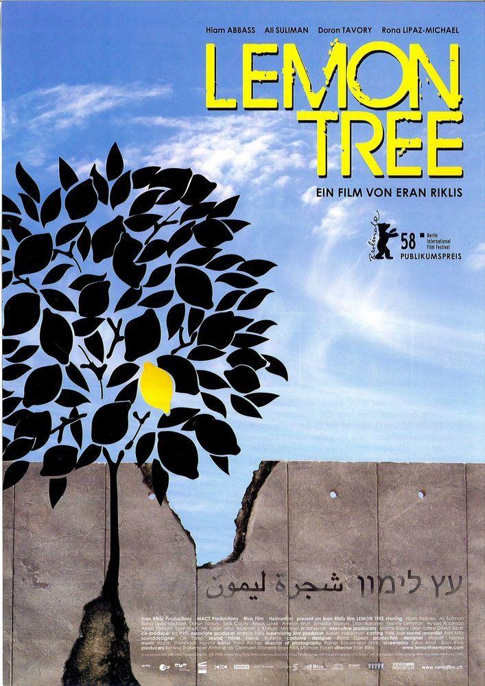 LEMON TREE - 2008 - ERAN RIKLIS - FILMPOSTER A4