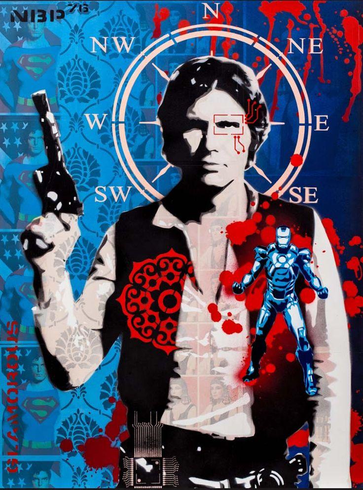 Scoundrel 1.3 Black, Brad Novak. Parnell Gallery Artist.  http://www.parnellgallery.co.nz/artists/brad-novak/