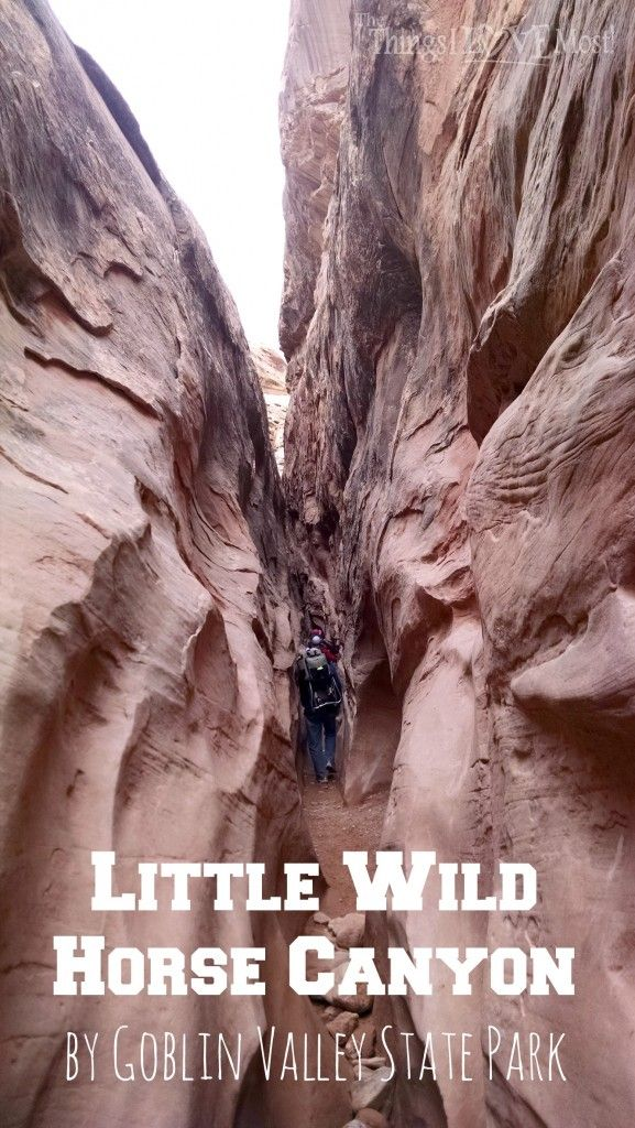LIttle Wild Horse Canyon by Goblin Valley State Park - Utah
