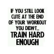Get sweaty!